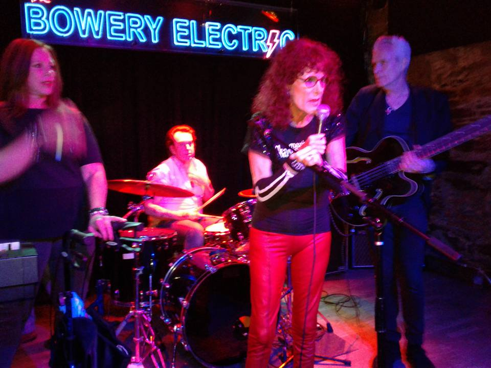 Ruby Lynn Reyner performs at Bowery Electric to celebrate Peter Crowley's Max's Kansas City CD Release.