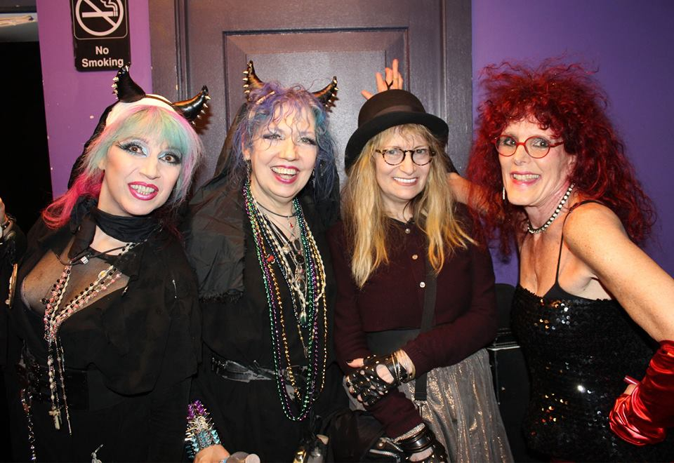 Tish Bellomo, Eileen Snooky Bellomo, Marcia Resnick and Ruby Lynn Reyner.  Photo by John E. Espinosa.